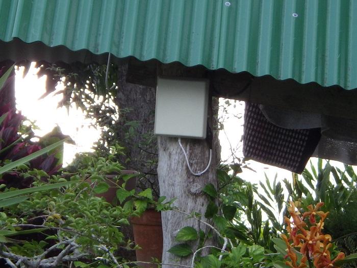 Antenne émettrice vers la maison